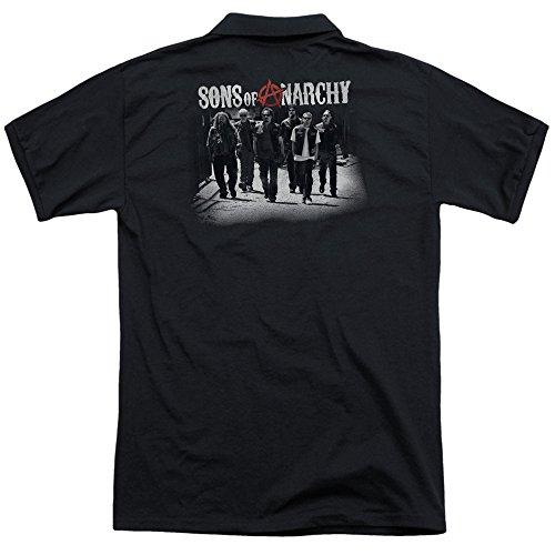 Sons of Anarchy Herren Poloshirt Schwarz