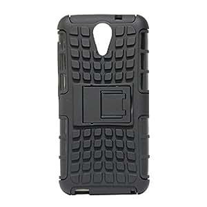 Unique Design Kick Stand Back Cover For Asus Zenfone 2 Laser(5.5)-Black