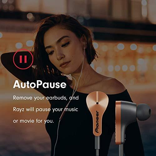 Pioneer SE-LTC5R-T Smarter Lighting-Kopfhörer mit Freisprech und Ladefunktion, Noise Cancelling und niedriegem Stromverbrauch, Auto Pause, Smart Button kupfer - 4