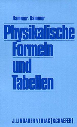 du  hammer Physikalische Formeln und Tabellen