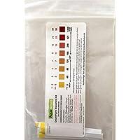 Aquanatura Trinkwasser Wasserhärtetest Härte/ Gesamthärte (10 Teststreifen) zuverlässige und schnelle Ergebniss