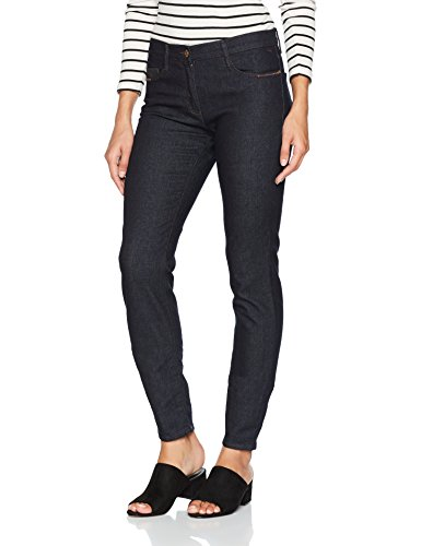BRAX Damen Skinny Jeans BX_MAYA Patch, Blau (Clean Raw Blue 22), W32/L34 (Herstellergröße: 42L) (Womens Jeans Knit)