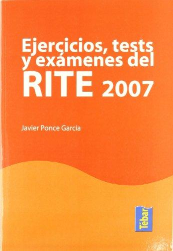 Ejercicios, tests y exámenes del RITE 2007