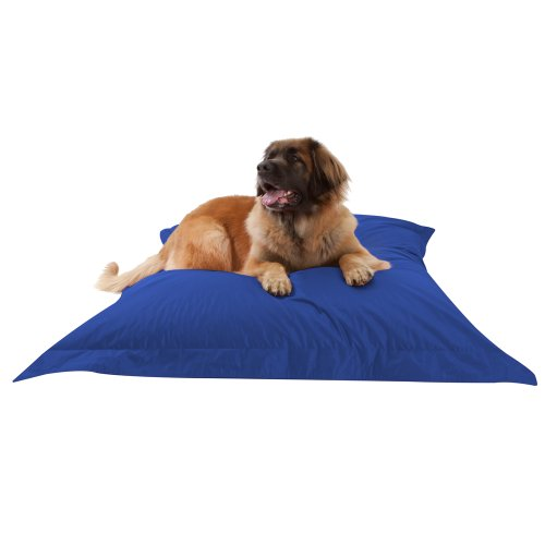 dogbagz-giant-dog-bed-180cm-x-140cm-100-water-resistant-dog-bean-bags-blue-no-dog-too-big