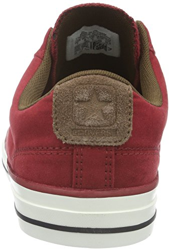Converse Star Player, Baskets  mixte adulte Rouge (Rot)
