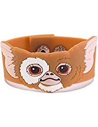 Gremlins Gizmo Embossed Rubber Snap On Wristband