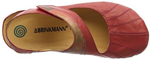 Dr. Brinkmann 710742, Sandali Punta Chiusa Donna Rosso (Rot (rot/feuer))