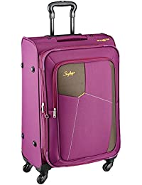 Skybags Footloose Rubik Polyester 580 mm Purple Softsided Cabin Luggage (STRUW58EPPL)
