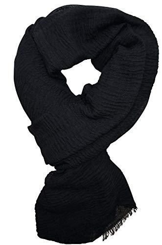KARL LOVEN - Fular - para mujer negro XXX-Large