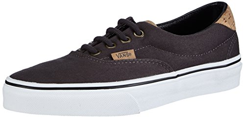 Vans U Era 59 Plaid Sneakers, Unisex Adulto, Grigio (Cork Twill/dark shadow), 35