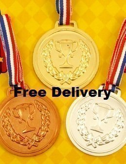 10-packs-of-prize-school-award-sports-day-olympics-gold-silver-bronze-winner-plastic-medals