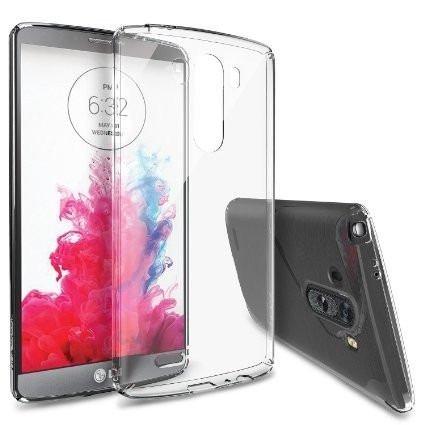 LG G3 - NOVAGO® Coque semi rigide Transparente pour LG G3 + 3films LG G3 offerts