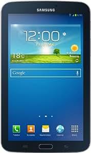 Samsung Galaxy Tab 3 17,8 cm (7 Zoll) Tablet (1,2GHz, Dual-Core, 1GB RAM, 8GB interner Speicher, 3,2 Megapixel Kamera, 3G, WiFi, Android 4.1) schwarz