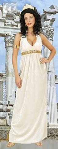 KOSTÜM - GREEK GODDESS - Größe 42/44 (L) ***SAMTLOOK*** (Göttin Kostüm Zubehör)