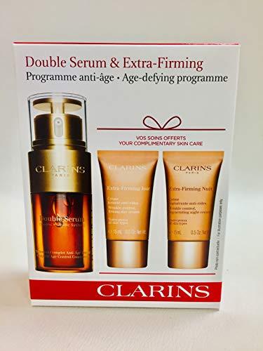 Clarins Double Serum Extra Firming Gesichtspflege-Set Anti-Aging