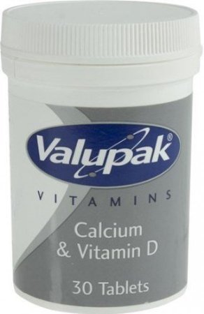 Valupak Calcium with Vitamin D Chewable Tablets - 6 packs