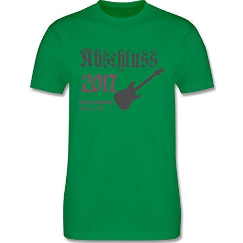 Abi & Abschluss - Lets Rock Abschluss 2017 - Herren Premium T-Shirt Grün