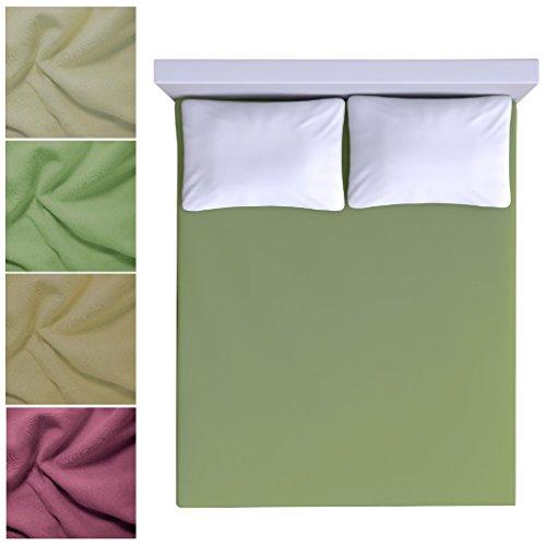 Winter-Bettlaken aus Fleece, Traumhaft weich und warm, schadstoffgeprüft nach Dem OekoTex, ideal für Den Winter