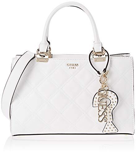 8a122ecd0 Guess - Status, Shoppers y bolsos de hombro Mujer, Blanco (White/Whi