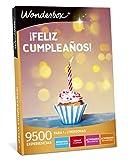 WONDERBOX Caja Regalo -Â¡Feliz CUMPLEAÃ'OS!- 9.500 experiencias para Dos Personas