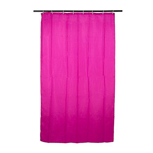 Smartfox Duschvorhang Pink, 180x200 cm, 12 Ösen inkl. 12 Kunststoffringen
