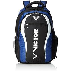 Victor Mochila, Backpack, funda para bádminton, raquetas de squash, tenis Azul Blau/Schwarz/Weiß
