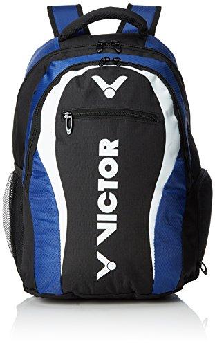 VICTOR Rucksack, Backpack, Schlägertasche für Badminton, Squash, Tennis schwarz/blau