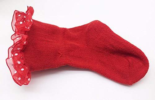 YWLINK Kleinkinder GekäMmte Baumwolle SöCkchen Baby MäDchen Süß Prinzessin Bequem Bowknots Socken