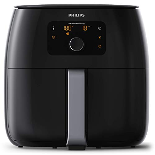 Philips Friggitrice HD9652/90 Avance Collection Airfryer XXL Friggitrice Low-Oil e Multicooker, 2225 W, 1.4 kg, Nero