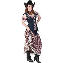 Pierro´s Kostüm Texas Lady Sienna Damenkostüm Komplettkostüm Größe 36-50 für Karneval, Fasching, Party