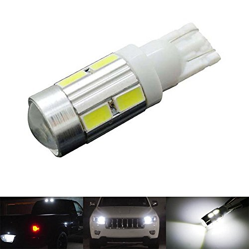 katur Lot de 1 T10 194 W5 W 10SMD 5730 Ampoule LED voiture LED Parking Ampoule