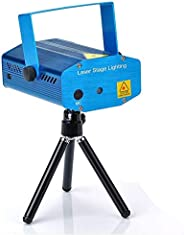 Mini Adjustment LED Laser Projector Stage Lighting DJ Disco Party Bar Club