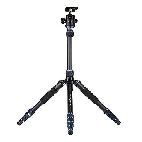 Andoer Aluminium-Legierung DSLR Kamera Stativ Universalstativ Einbeinstativ für Canon Nikon Sony Olympus Pentax mit Kugelkopf