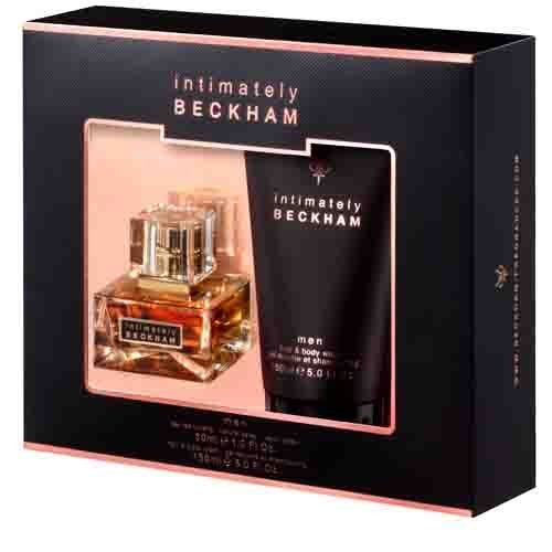 Beckham David Beckham INTIMATELY Christmas Gift Set For Men EDT 30ml And Hair amp; Body Wash 150,l