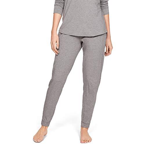 Under Armour Damen Recovery Sleepwear Jogger Hose, Grau, MD - Recovery-ausrüstung