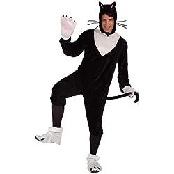 Atosa Disfraz de gato para hombre, talla M/L (5889)