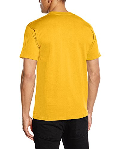 Fruit Of The Loom 61044 Mens Short Sleeve Super Premium T-Shirt Tee Gelb (sunflower Yellow)