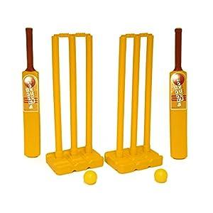 First-Play SET099 - Juego de críquet de Velocidad, Color Amarillo