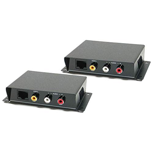 'Cablematic-Extender UTP Audio und Transmitter und Empfänger Composite Video Cat. 5ce01a Composite-video-extender