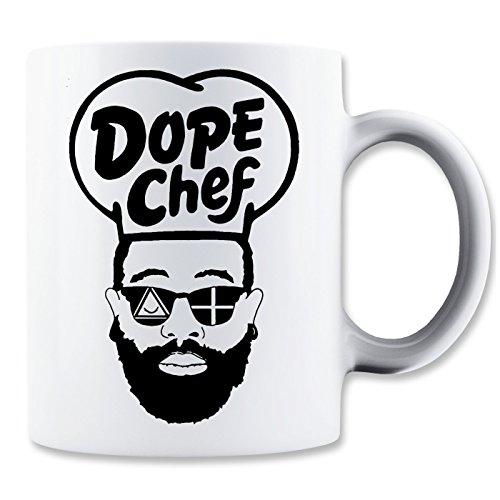 Dope Chef Hipster Beard Sunglasses Klassische Teetasse Kaffeetasse