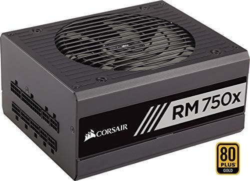 Corsair RM750x Alimentation PC (Modulaire Complet, 750 Watt, 80 PLUS Gold) No