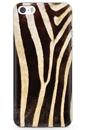 Case Warehouse iPhone 5 / 5s / SE Designer Mode Zebra-Druck Schutz Gummi Handyhülle TPU Bumper Tier Gepard Katze Süss Wickeln -