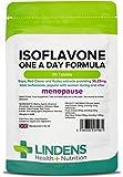 Lindens Fórmula diaria de isoflavona (soja+) en comprimidos | 30 Paquete | Contiene trébol violeta y kudza, popular entre mujeres durante y después de la menopausia