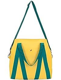 Fastrack Women's Sling Bag (Yellow)