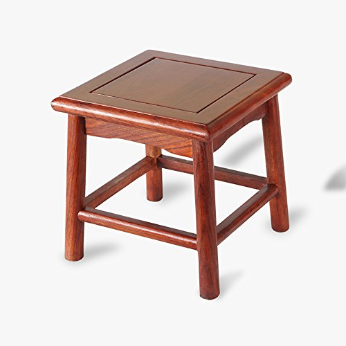 Sgabello piccolo in legno / sgabello cinese in legno massello / sgabello scarpa casalingo / sgabello quadrato
