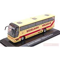 NEW EDIJE11 AUTOBUS Volvo Excelsior Holidays PLAXTON Excalibur cm 15,5 1:76