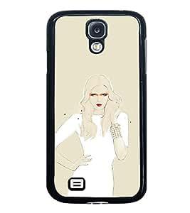 ifasho Designer Phone Back Case Cover Samsung Galaxy S4 I9500 :: Samsung I9500 Galaxy S4 :: Samsung I9505 Galaxy S4 :: Samsung Galaxy S4 Value Edition I9515 I9505G ( Crazy Purple Logo Quotes )