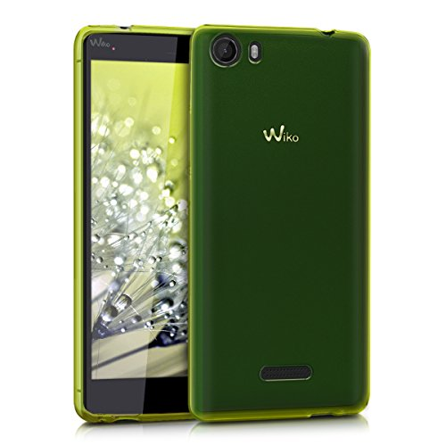 kwmobile Funda para Wiko Fever 4G - Carcasa Protectora de [TPU] para móvil - Cover [Trasero] en [Verde]