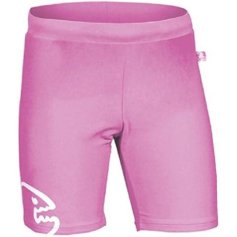 iQ-Company UV 300  - Pantalones cortos de natación para niños, color púrpura, talla 104 cm