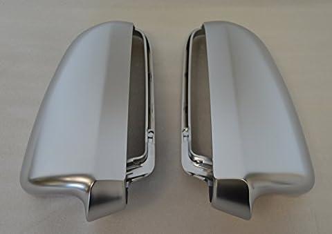 Coques de rétroviseur Coque de miroir Aluminium Audi A38P 2003–2008a4b62001–2005b72005–2008A64F 6C 2004–2008boîtier de rétroviseur Corpo Dello specchietto Mirror Housing